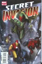 Secret Invasion #2 Marvel comic book